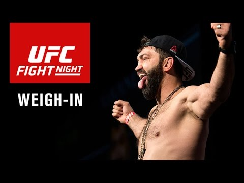 Fight Night Hamburg: Official Weigh-in