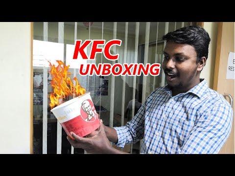 KFC BIG 8 Combo Unboxing   EATLOG EP01