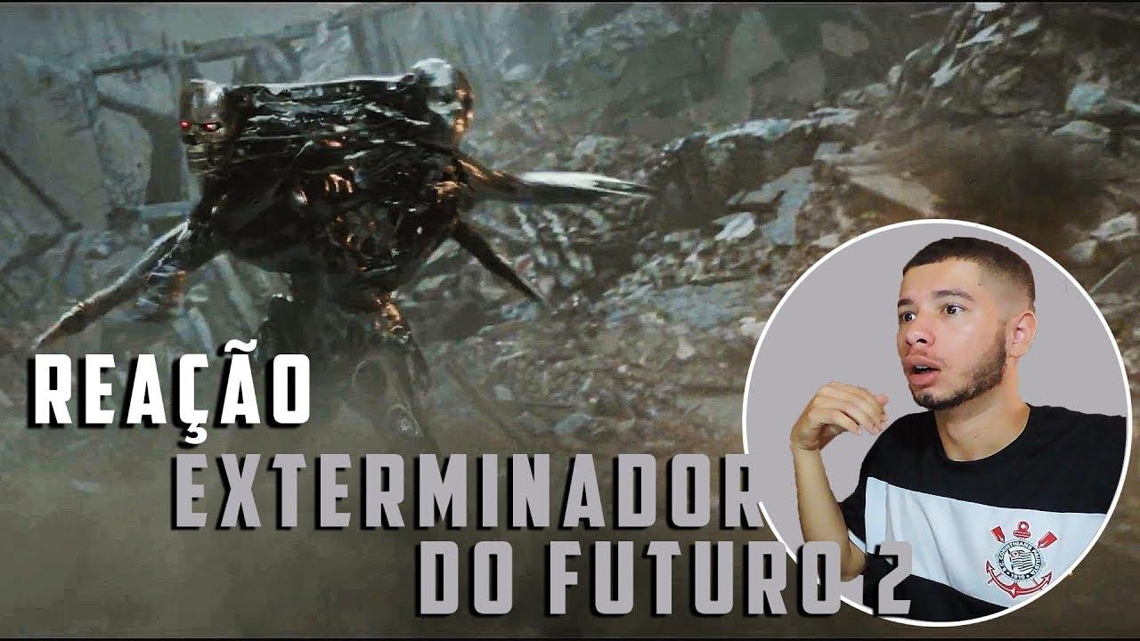 Exterminador do Futuro: Destino Sombrio | Trailer 2 Reaction/Reação