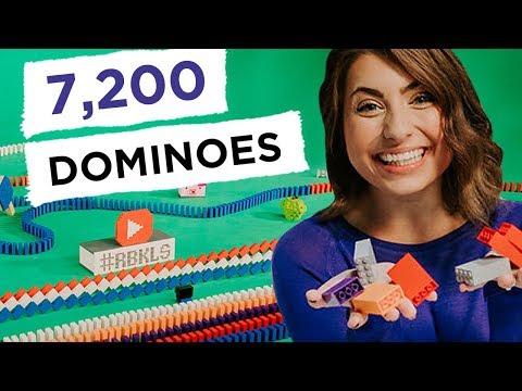7,200 LEGO Dominoes (ft. Hevesh5) - REBRICKULOUS