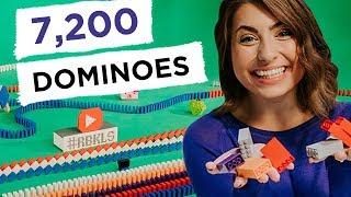 7,200 LEGO Dominoes (ft. Heves…