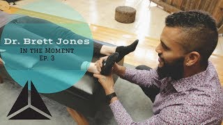 Chiropractic Adjustment Restores  21 y/o Ankle Injury: In the Moment Ep. 3 w/ Dr. Brett Jones