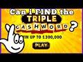 TRIPLE cashword PROFIT! Favourite series | Online Scratch Cards | Bierans Cards