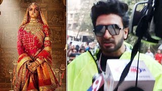 Ranveer Singh REFUSES TO COMMENT on Padmavati Controversy