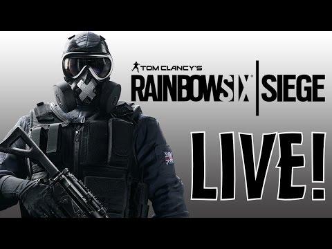 Rainbow Six Siege, GMOD, BO3! Live W/ White and Pasty!