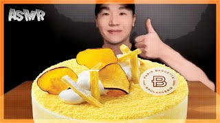 ASMR SWEET POTATO CAKE 고구마 케이크…