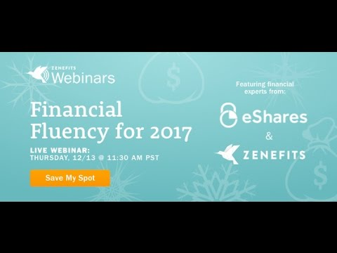 Equity, Stock Options, 401ks, Oh My! Zenefits + eShares