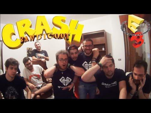 Crash Bandicoot PS4 Remastered Reveal LIVE Reaction - E3 2016 SONY