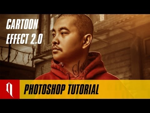 Cartoon Effect 2.0 - Photoshop Cartoon Effect (Mixtape Style)