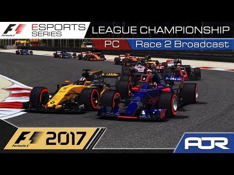 F1 Esports Series 2017: PC League Championship - Race 2 - Bahrain