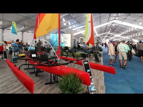 DREAM KAYAK? Hobie Tamdem Island Miami Boat Show 2020 MIBS