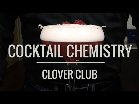 Basic Cocktails - How To Make The Clover Club