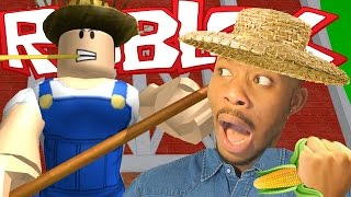 Roblox | ESCAPE THE EVIL FARM! | CORN MAZE!!