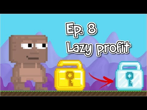 Growtopia - Lazy Profit Ep.8 (buy/sell farms)