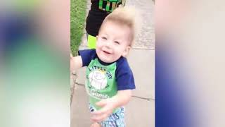Funniest Baby's Outdoor  Try Not To Laugh HD