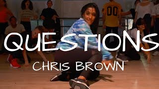 Questions by @ChrisBrown | @DanaAlexaNY Choreography