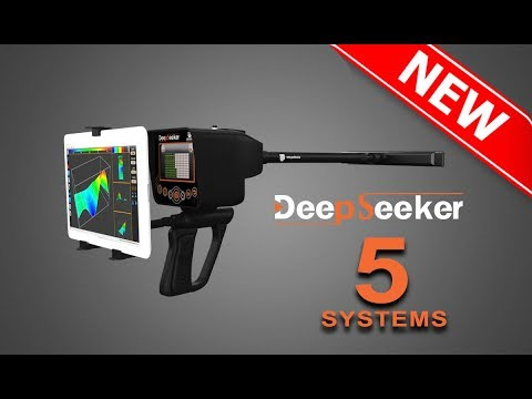 best metal detector for gold and treasure detection - Deep seeker device  5 systems