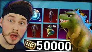 50,000 UC for NEW MYTHIC PETS & SKINS 😮