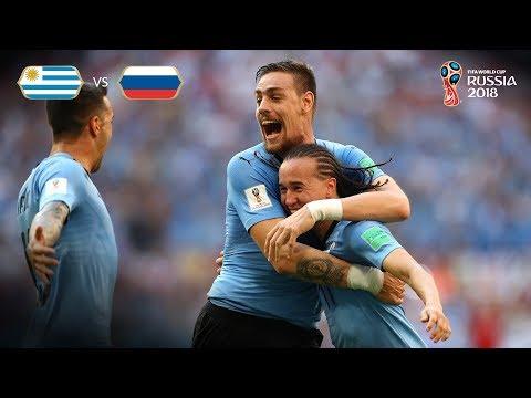 Uruguay Goal 2 - Uruguay v Russia - MATCH 33