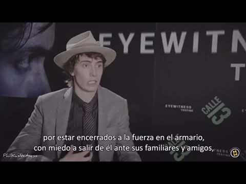 James Paxton promoting Eyewitness in Spain Interview (October 2016)