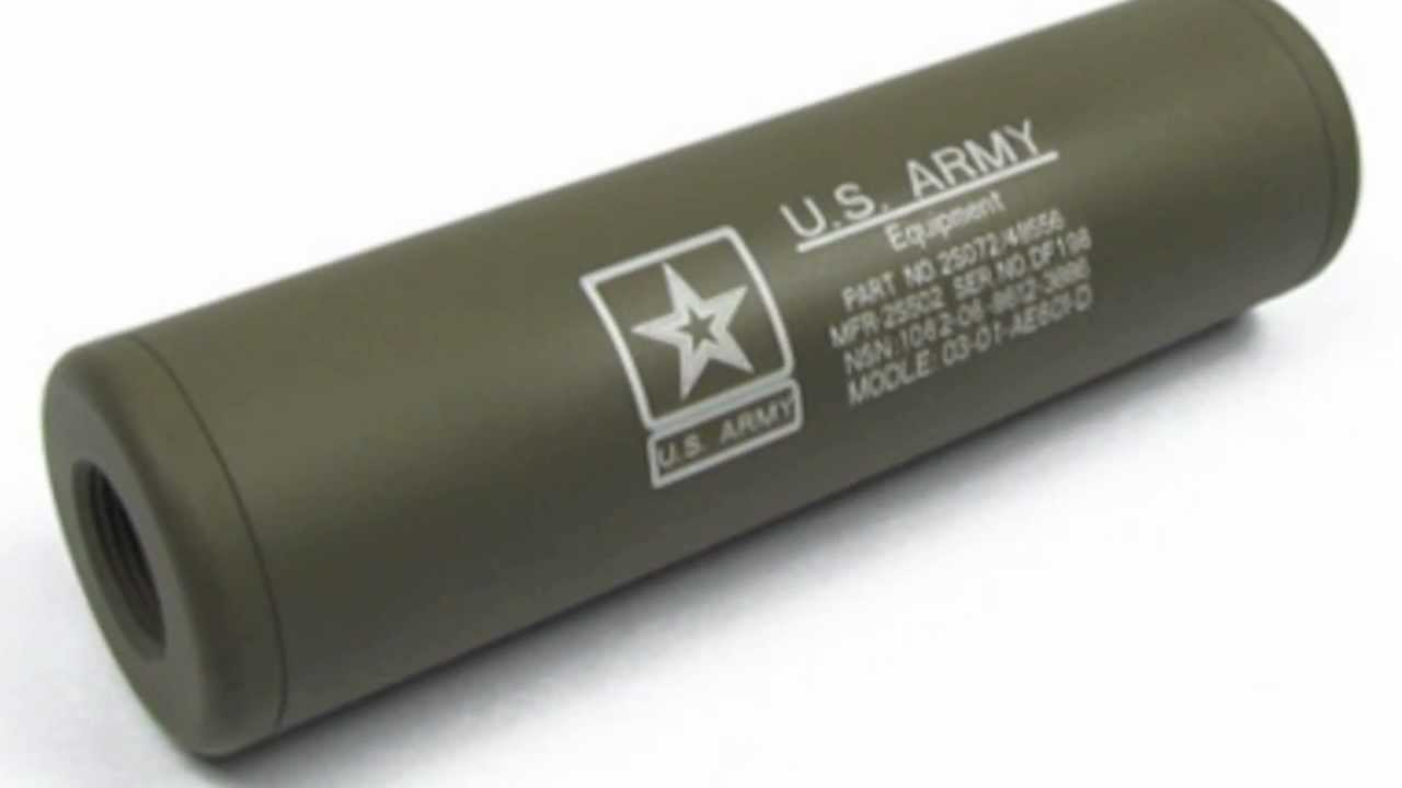 airsoft silencers  suppressors are illegal