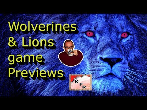 Wolverines and Lions Game Previews l Detroit sports l Karl's news
