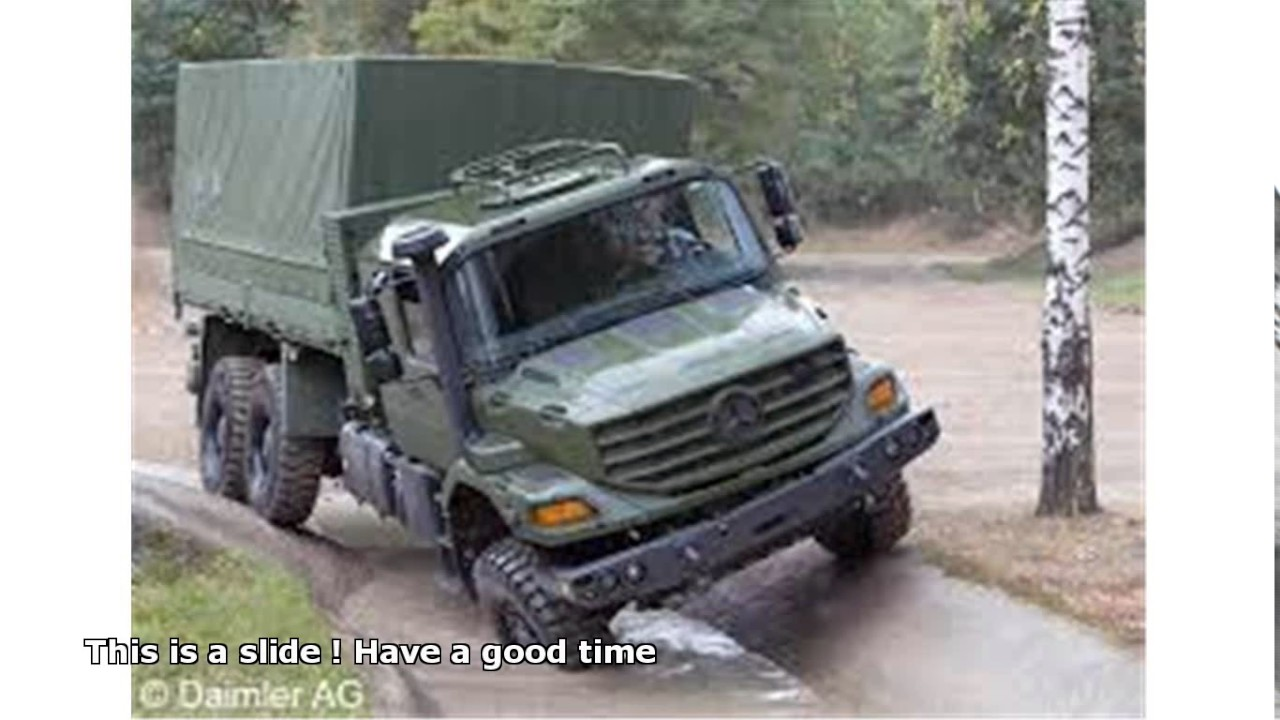 mercedes-benz zetros 2733 a 6x6 price - YouTube