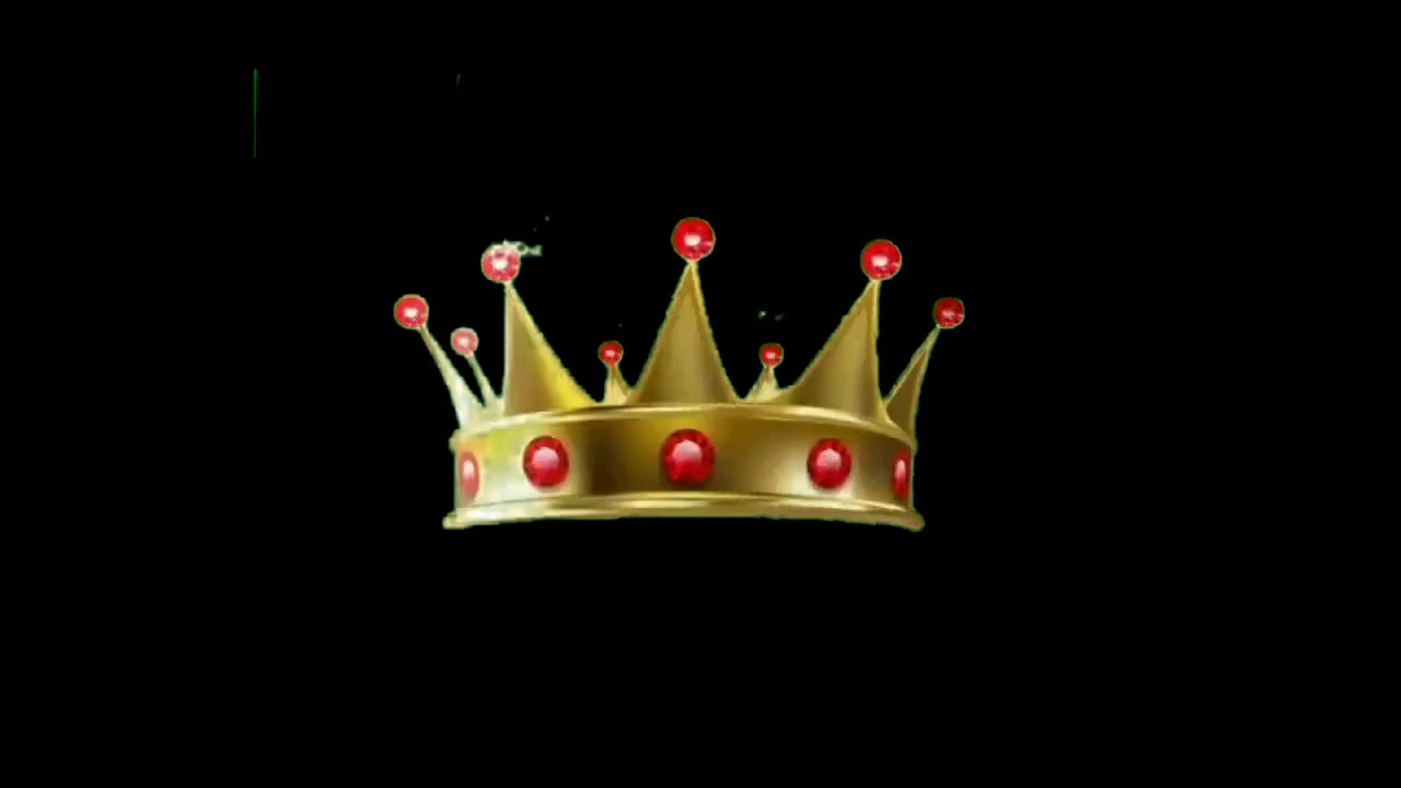 King crown👑 Black screen video    #blackscreen video n ...