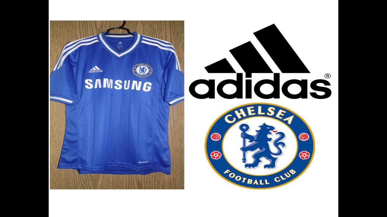 quality design fb066 bb634 Adidas Chelsea Authentic Jersey 2013-2014 Stop Motion