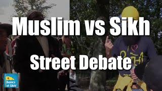 "Must Watch! Muslim Vs Sikh - Street Debate"" #6 Sikhs @ Speakers Corner Hyde Park"