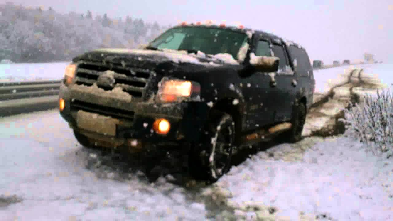 2007 Ford Expedition El Snow Mud Youtube