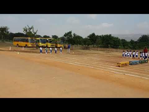 Pranaam in kindergarten sportsmeet held at Sandur residential school  Sandur.