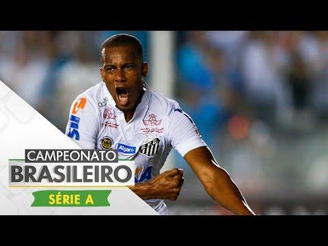 Melhores Momentos - Gols de Vitória 0 x 2 Santos - Campeonato Brasileiro (21/06/2017)