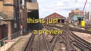 Hammersmith & Circle Driver's eye view preview