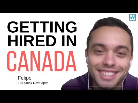 How Felipe got hired in Vancouver in 20 Days