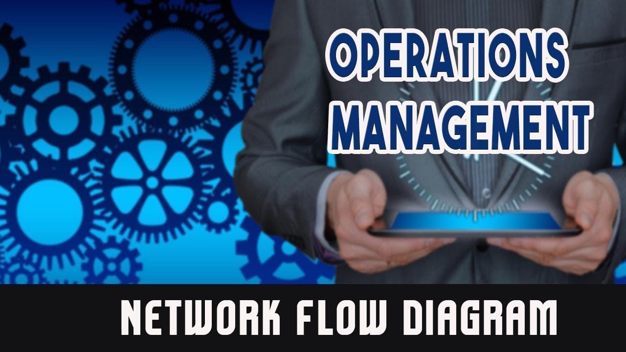 Project Management Techniques Network Flow Diagram YouTube
