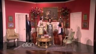 Jennifer Aniston and Portia de Rossi// Soap Opera Scene