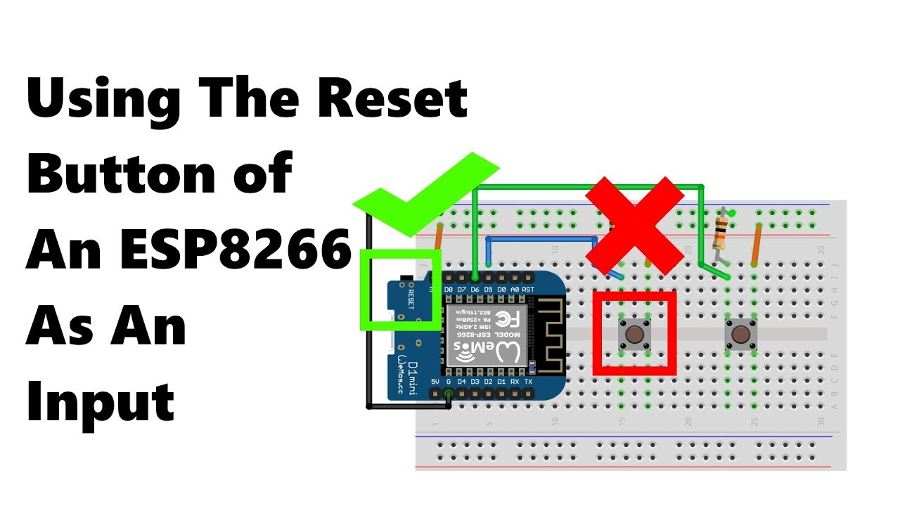 [TMT] - Using The Reset Button Of An ESP8266 As An Input