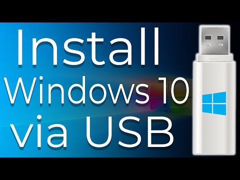How To Download And Install Windows 10 From USB Flash Drive Step-By-Step