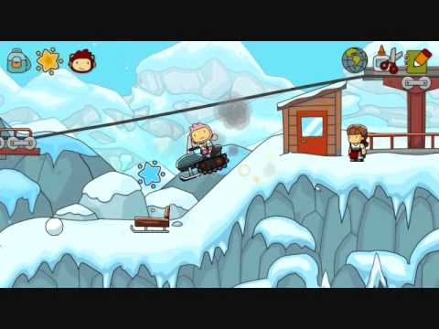 Scribblenauts Unlimited Part 19: Snow Lily
