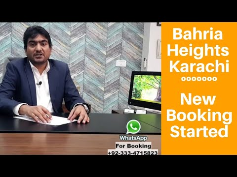 Bahria Heights 2 Bed Apartments in Bahria Town Karachi New Deal on 3 years Easy Installments BTK