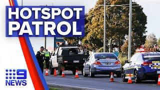 Coronavirus: Victorian police deployed in hotspot suburbs