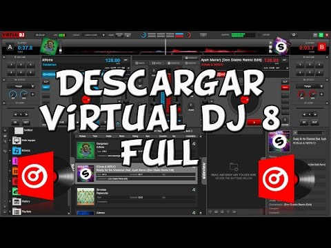 Como Descargar VIRTUAL DJ 8 Full GRATIS!! | Crack / Explicado 100% 2015