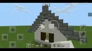 ХАЙ-ТЕК дом. (Библиотека из деревни) (Minecraft)