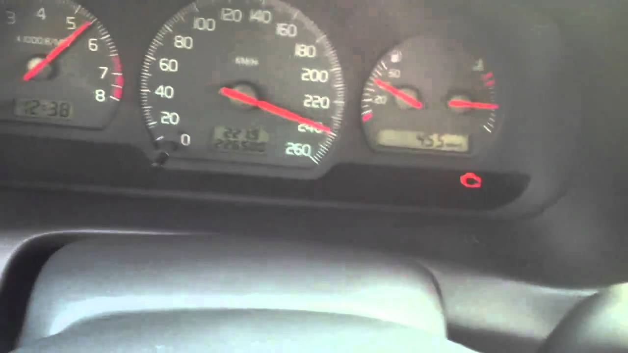 volvo s40 2.0t(auto) top speed 262kmh - YouTube