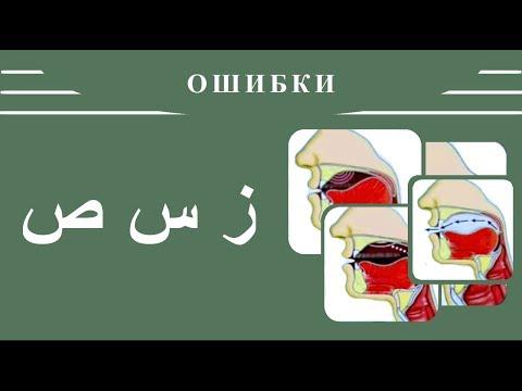 Айман Сувейд. 10. Ошибки в буквах: ز , س , ص (с субтитрами на русском)