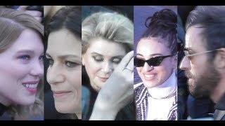 Download Video Catherine Deneuve, Léa Seydoux, Justin Theroux, Camélia Jordana au défilé Vuitton le 6 mars 2018 MP3 3GP MP4