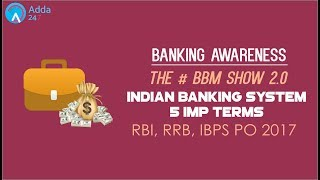 Banking Awareness | BBM | Indian Banking System | Part 1 | Online Coaching For IBPS Bank PO