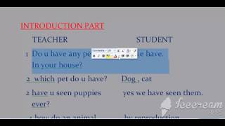 Science lesson lesson/ class 8 lesson plan/ reproduction in animals/ b.ed lesson plan/nios lesson pl