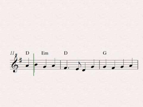O Come, All Ye Faithful (Adeste Fideles) - Free easy Christmas soprano recorder sheet music